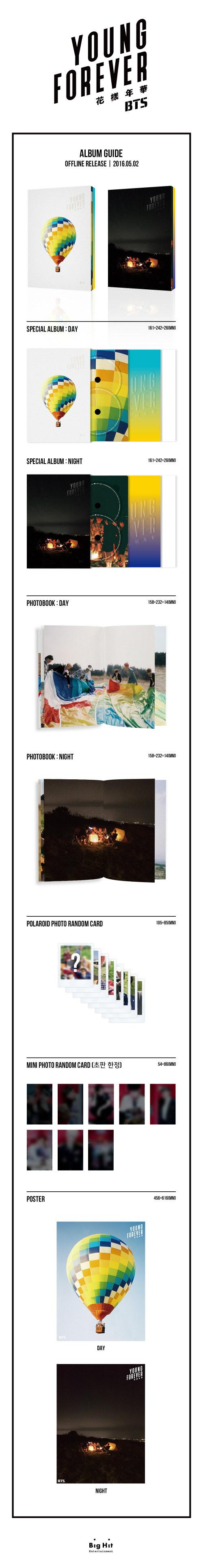 防弾少年団(BTS) - 花様年華 Young Forever [Day Ver.] [+公認ショップ特典付き]