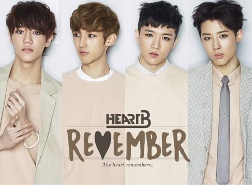 HEARTB(하트비) - REMEMBER [1ST MINI ALBUM]
