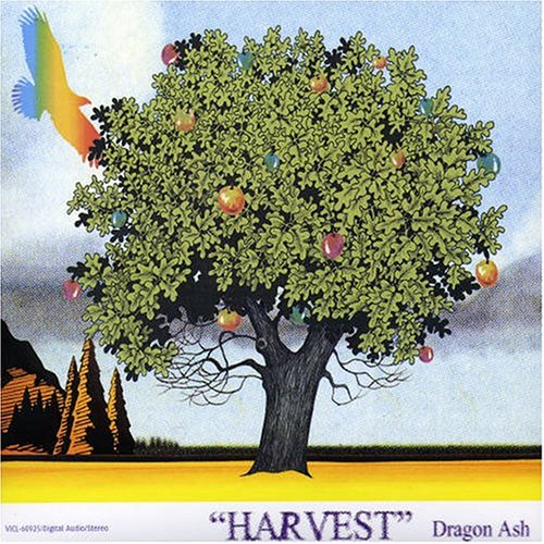 Image result for harvest; compact disc; primary artist - dragon ash