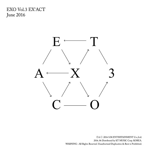 EXO - 3集 EX'ACT [Chinese - Lucky One Ver.]