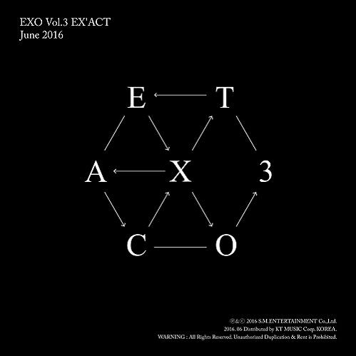 EXO - 3集 EX'ACT [Korean - Monster Ver.]