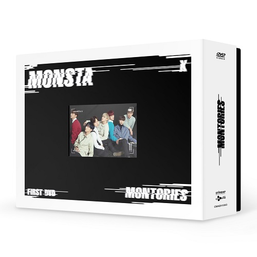 MONSTA X - 1ST DVD MONTORIES