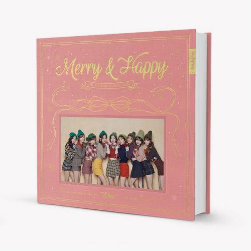 TWICE - 1集 Repackage MERRY & HAPPY [Happy Ver.]