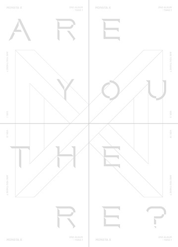MONSTA X - 2集 Take.1 ARE YOU THERE? [Ver.I]
