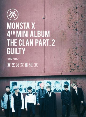 MONSTA X - THE CLAN 2.5 Part.2 GUILTY [Guilty Ver.]