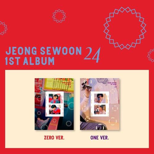 チョン・セウン(JEONG SE WOON) - 1集 24 Part.2 [One Ver.]