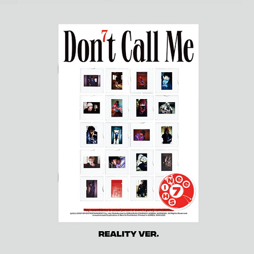 SHINEE - 7集 DON'T CALL ME [PhotoBook - Reality Ver.]