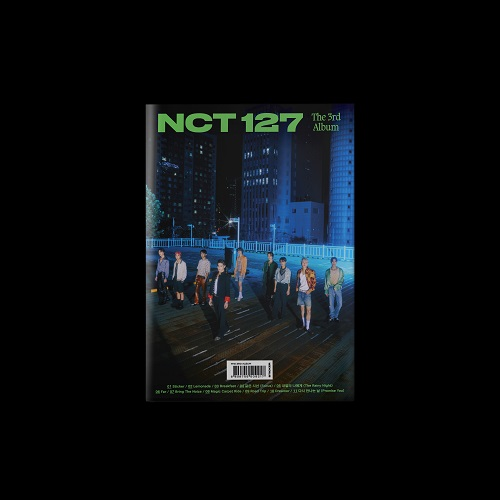 NCT 127 - 3集 STICKER [Seoul City Ver.]