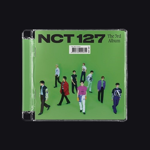 NCT 127 - 3集 STICKER [Jewel Case Ver. - Random]