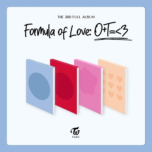 TWICE - Formula of Love: O+T=<3 [Random Ver.]