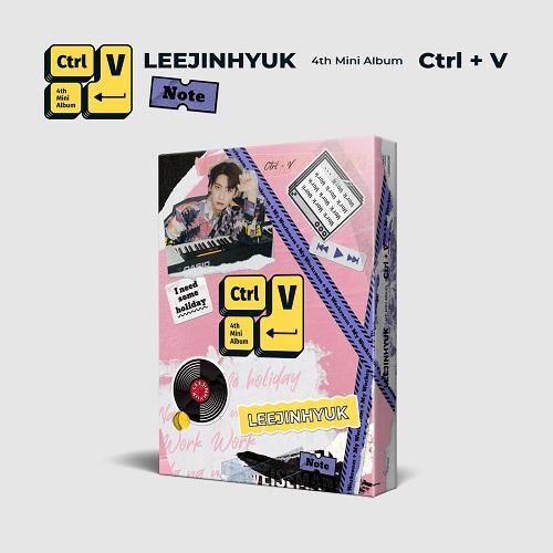 イ・ジニョク(LEE JIN HYUK) - Ctrl+V [Note Ver.]